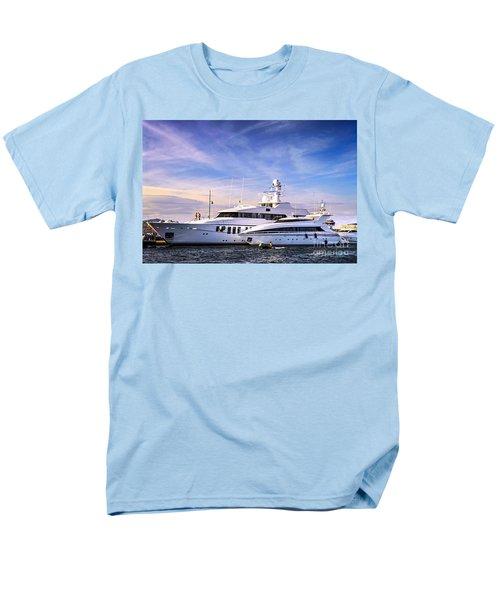 Luxury yachts T-Shirt by Elena Elisseeva