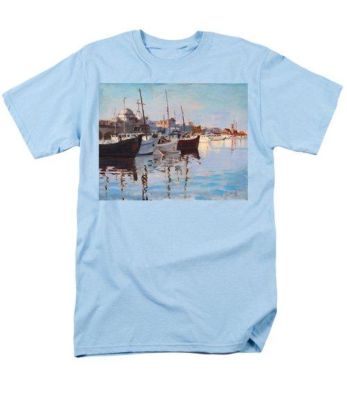 Mandraqi Rhodes Greece T-Shirt by Ylli Haruni