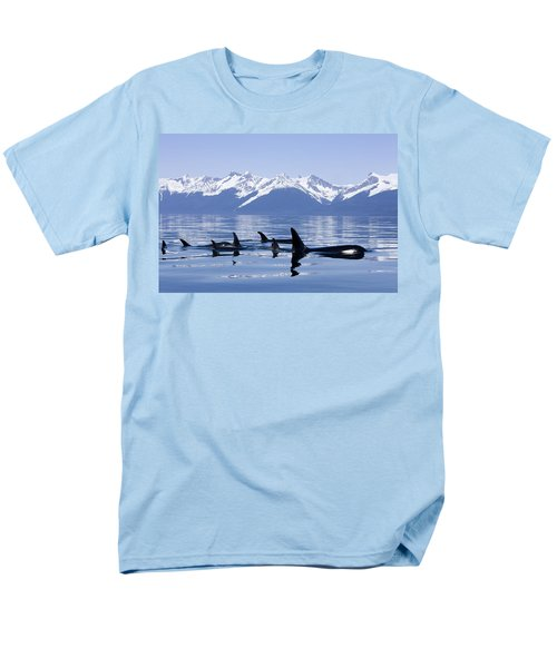 Many Orca Whales T-Shirt by John Hyde - Printscapes