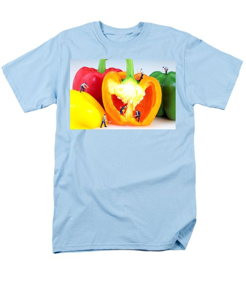 Mining in colorful peppers T-Shirt by Paul Ge