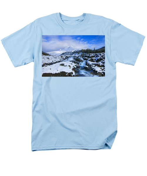 Mt. Hood Morning T-Shirt by Mike  Dawson