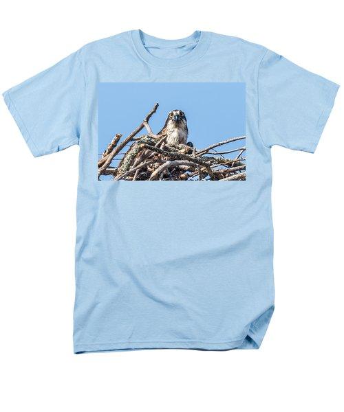 Osprey Eyes Men's T-Shirt  (Regular Fit) by Paul Freidlund