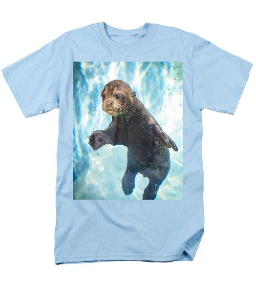 Otter Cuteness Men's T-Shirt  (Regular Fit) by Jamie Pham