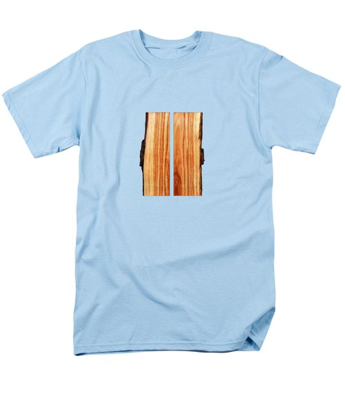 Parallel Wood Men's T-Shirt  (Regular Fit) by YoPedro