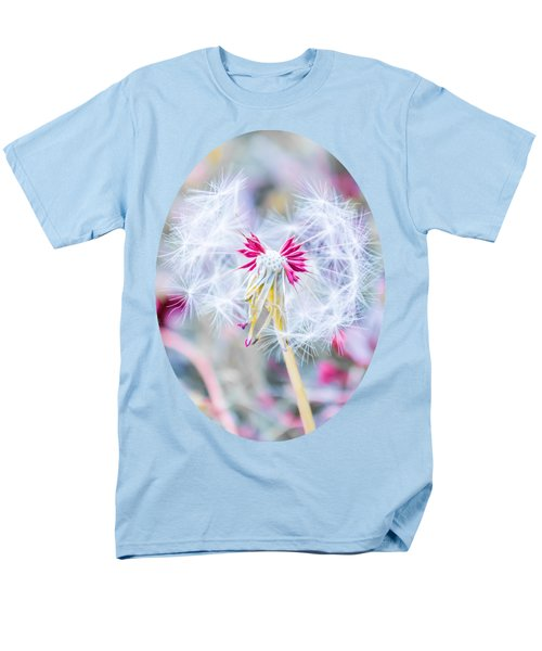 Pink Dandelion T-Shirt by Parker Cunningham