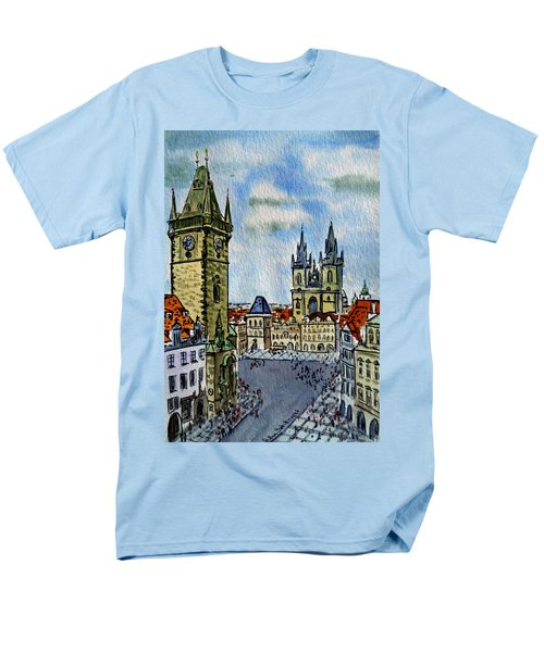 Prague Czech Republic T-Shirt by Irina Sztukowski