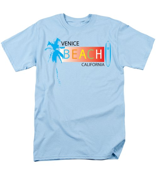 Venice Beach California T-shirts And More Men's T-Shirt  (Regular Fit) by K D Graves