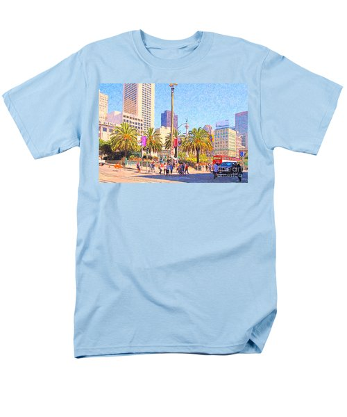 San Francisco Union Square T-Shirt by Wingsdomain Art and Photography