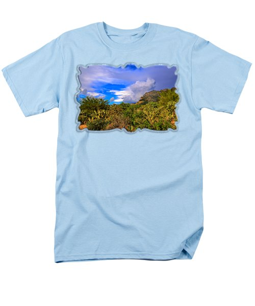 Sonoran Afternoon H11 Men's T-Shirt  (Regular Fit) by Mark Myhaver