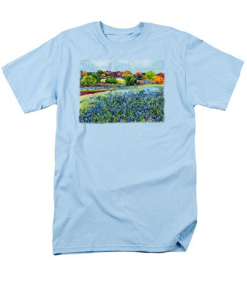 Spring Impressions Men's T-Shirt  (Regular Fit) by Hailey E Herrera