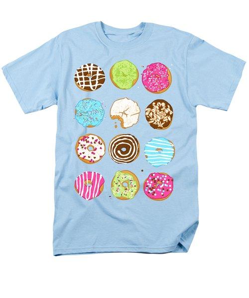Sweet Donuts Men's T-Shirt  (Regular Fit) by Evgenia Chuvardina