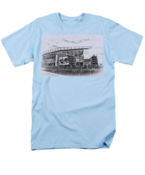 The Linc - Philadelphia Eagles T-Shirt by Bill Cannon