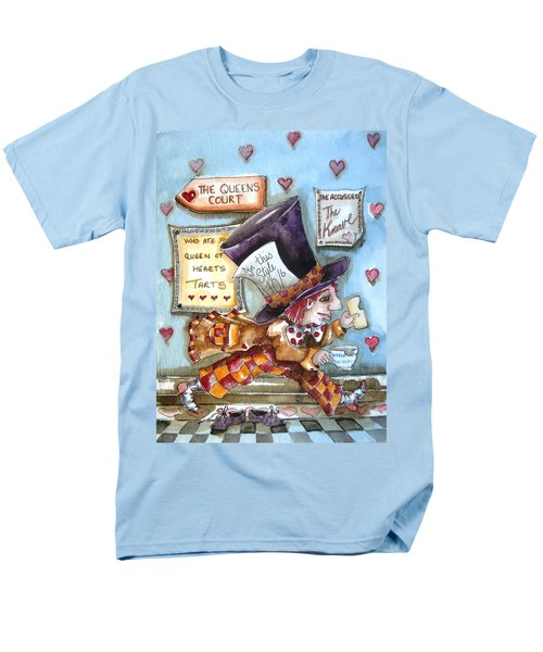 The Mad Hatter - in court T-Shirt by Lucia Stewart