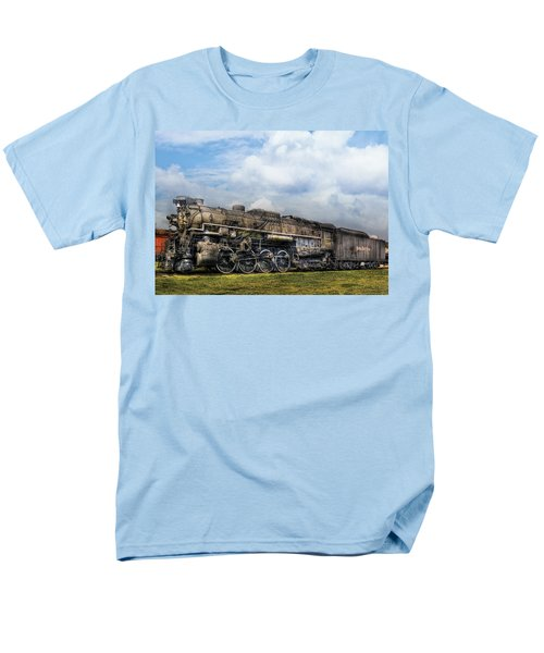 Train - Engine - Nickel Plate Road T-Shirt by Mike Savad