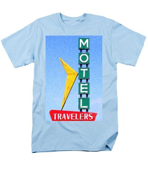 Travelers Motel Tulsa Oklahoma T-Shirt by Wingsdomain Art and Photography