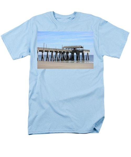 Tybee Island Pier Closeup T-Shirt by Carol Groenen