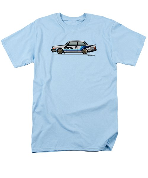 Volvo 240 242 Turbo Group A Homologation Race Car Men's T-Shirt  (Regular Fit) by Monkey Crisis On Mars