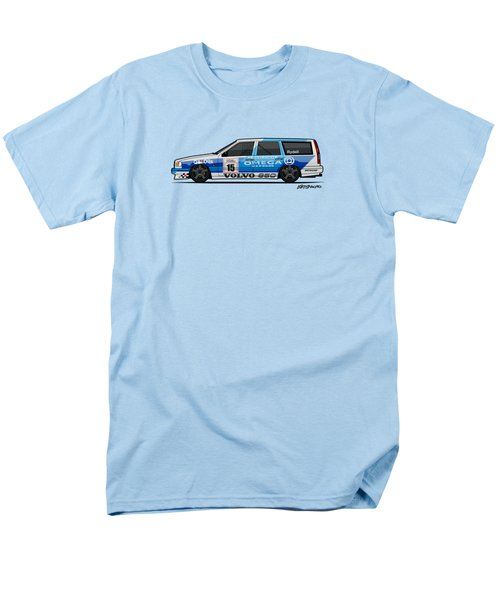Volvo 850r Twr British Touring Car Championship  Men's T-Shirt  (Regular Fit) by Monkey Crisis On Mars