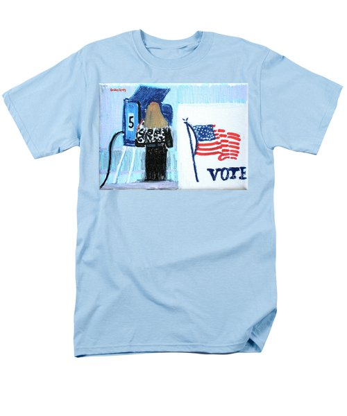 Voting Booth 2008 Men's T-Shirt  (Regular Fit) by Candace Lovely