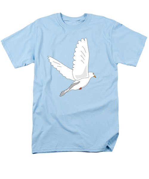 White Dove Men's T-Shirt  (Regular Fit) by Miroslav Nemecek