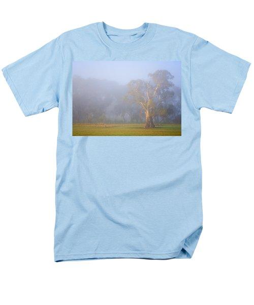 White Gum Morning T-Shirt by Mike  Dawson