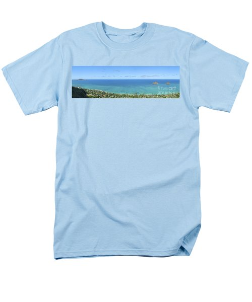Windward Oahu Panorama II T-Shirt by David Cornwell/First Light Pictures, Inc - Printscapes