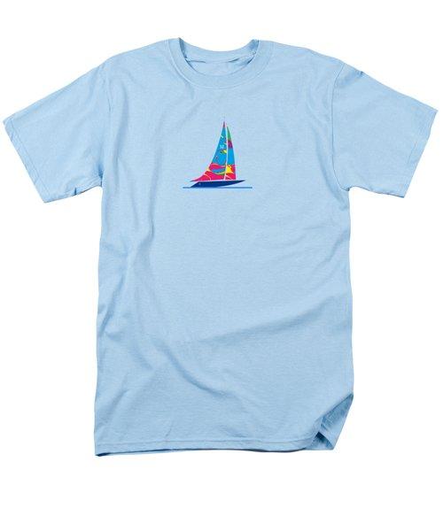 Yacht Luxury   Nautical   Beach Men's T-Shirt  (Regular Fit) by Johannes Murat