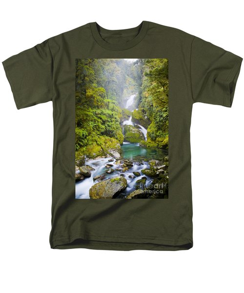 Amazing Waterfall T-Shirt by Tim Hester