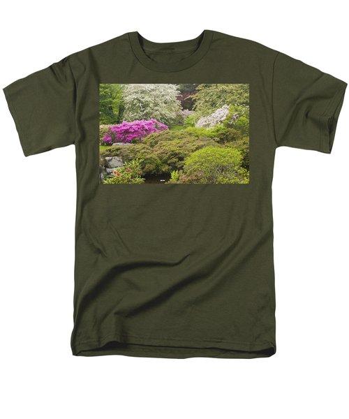 Asticou Azelea Garden - Northeast Harbor - Mount Desert Island - Maine T-Shirt by Keith Webber Jr