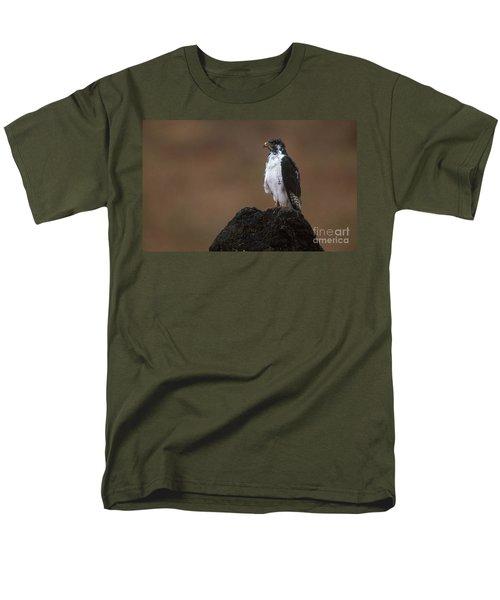 Augur Buzzard Men's T-Shirt  (Regular Fit) by Art Wolfe