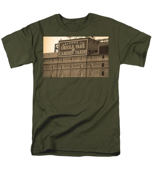 Baltimore Orioles Park at Camden Yards T-Shirt by Frank Romeo
