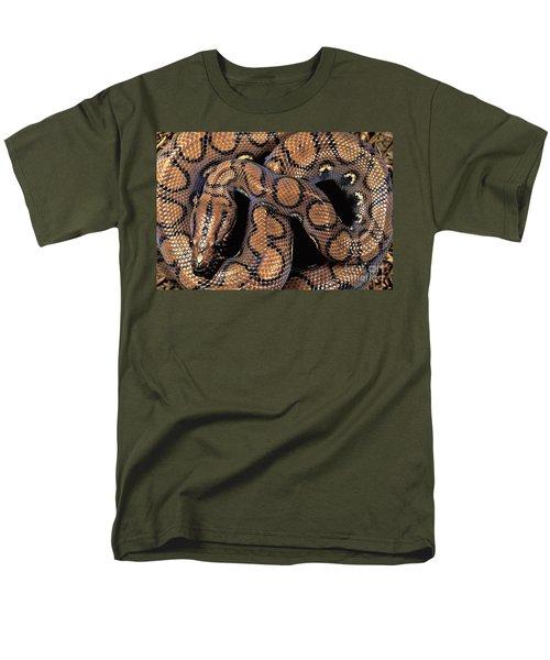 Brazilian Rainbow Boa Men's T-Shirt  (Regular Fit) by Art Wolfe