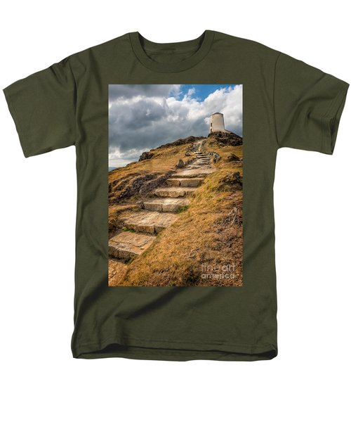 Lighthouse Steps T-Shirt by Adrian Evans