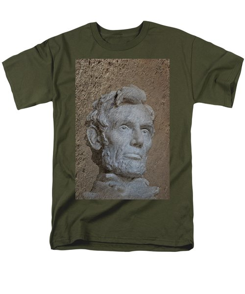 President Lincoln Men's T-Shirt  (Regular Fit) by Skip Willits