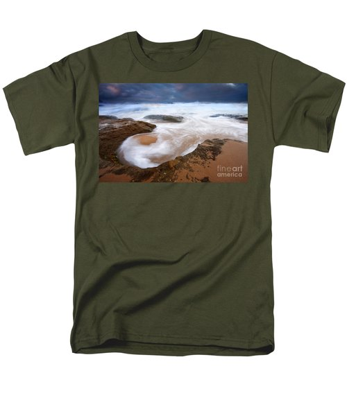 Angry Sea T-Shirt by Mike  Dawson