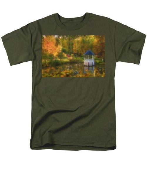 Autumn Gazebo T-Shirt by Joann Vitali