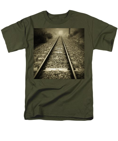 Railway tracks T-Shirt by Les Cunliffe