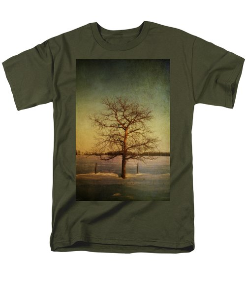 A Pictorialist Photograph Of A Lone T-Shirt by Roberta Murray