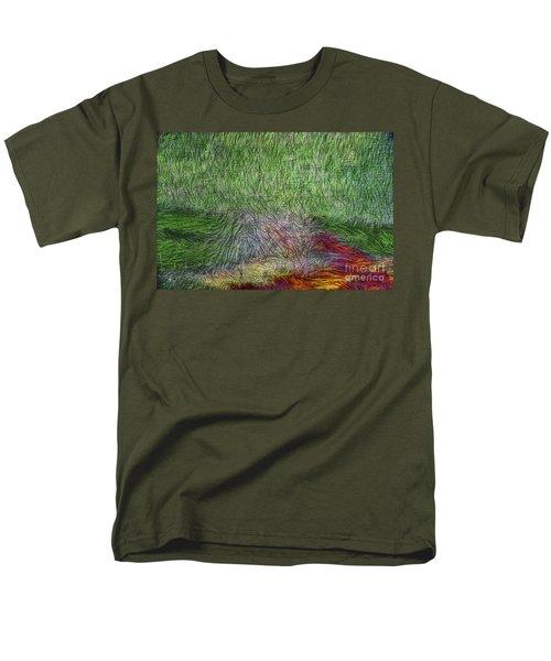 Abstraction of Life T-Shirt by Deborah Benoit