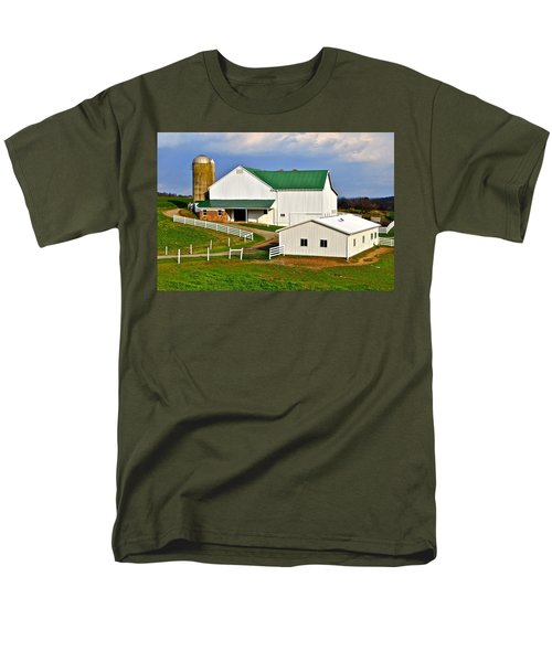 Amish Living T-Shirt by Frozen in Time Fine Art Photography