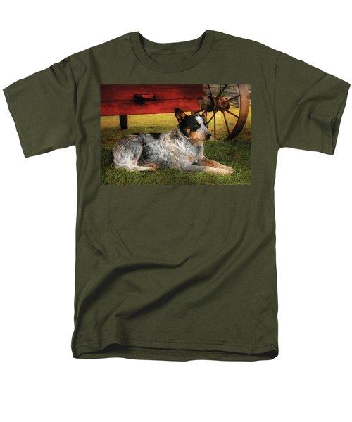 Animal - Dog - Always Faithful T-Shirt by Mike Savad