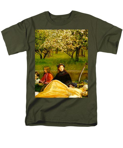 Apple Blossoms T-Shirt by John Everette Millais