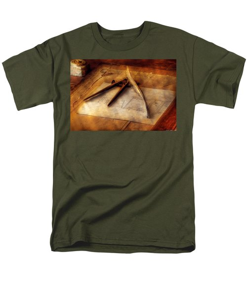 Architect - The Draftsman T-Shirt by Mike Savad