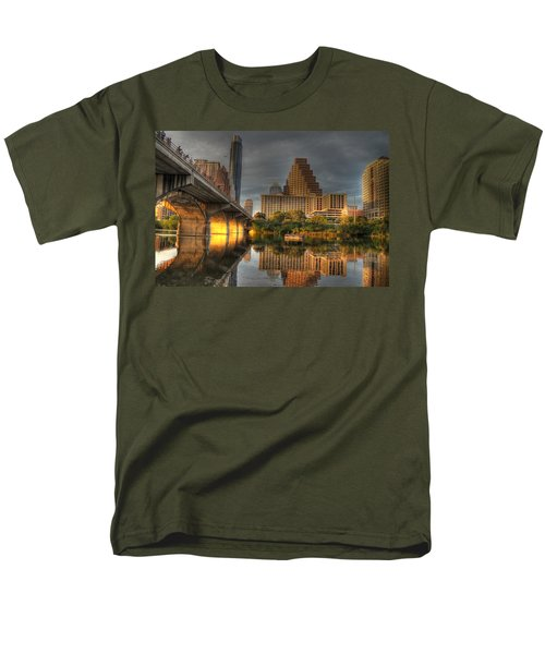 Austin Skyline Men's T-Shirt  (Regular Fit) by Jane Linders