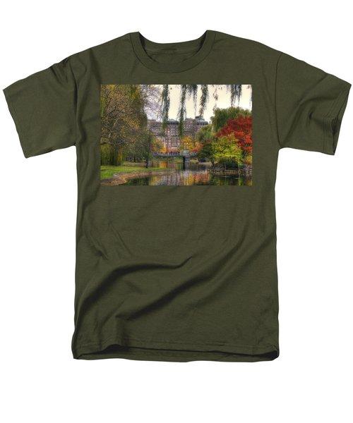 Autumn in Boston Garden T-Shirt by Joann Vitali