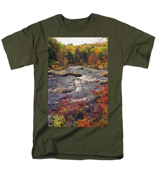 Autumn River T-Shirt by Joann Vitali