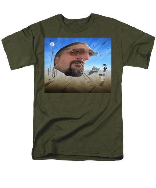 Awake . . A Sad Existence Men's T-Shirt  (Regular Fit) by Mike McGlothlen