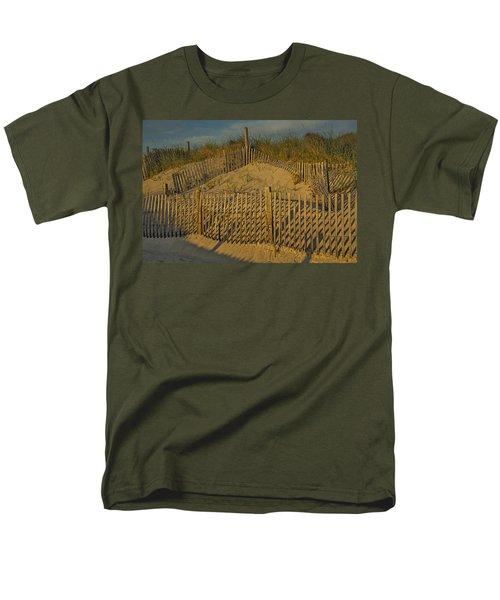 Beach Fence T-Shirt by Susan Candelario