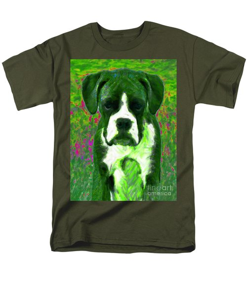 Boxer 20130126v3 T-Shirt by Wingsdomain Art and Photography
