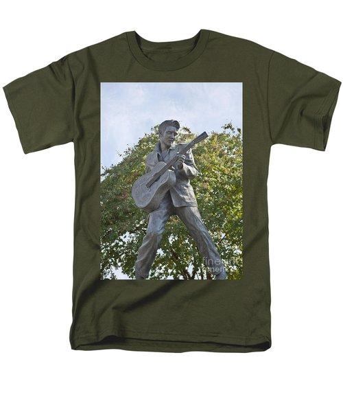 Bronze Elvis T-Shirt by Liz Leyden